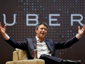 Uberの創業者トラビス・カラニック