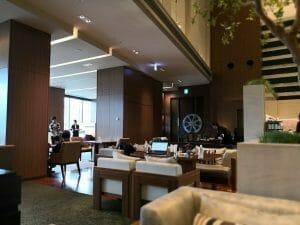大阪マリオット都ホテルのクラブラウンジ