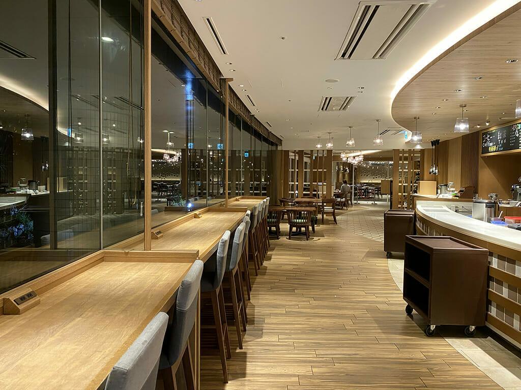 シェラトングランデ東京ベイのガレリアカフェ