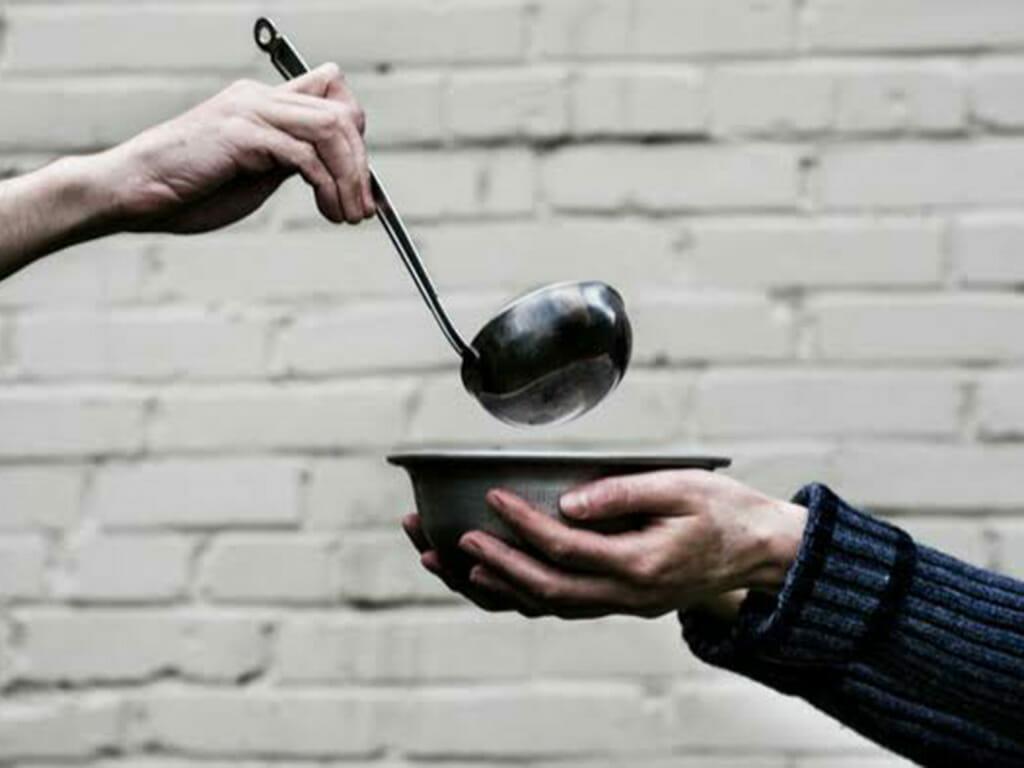 乞食のイメージ