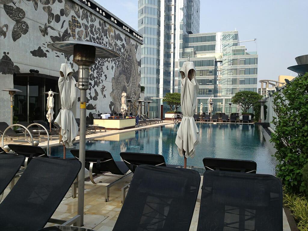 W香港のプール