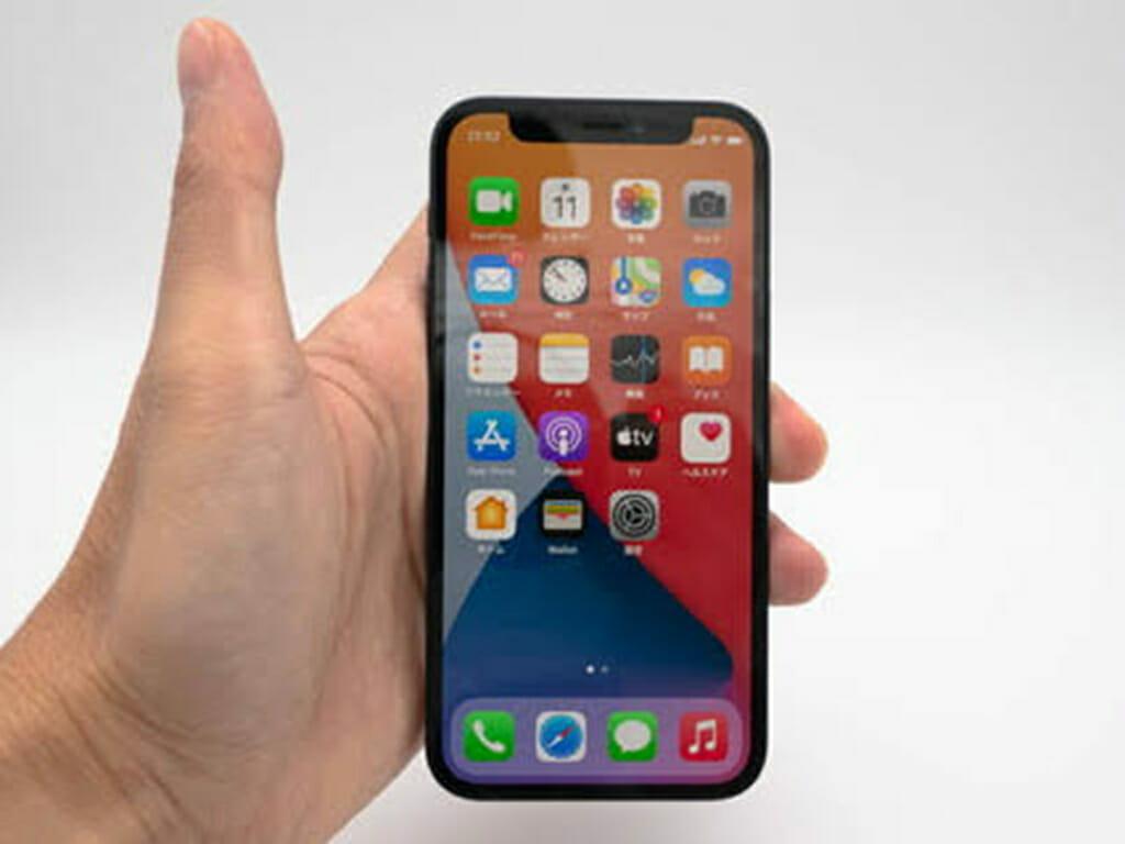 iPhone12miniのサイズ