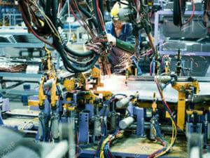 自動車工場のイメージ