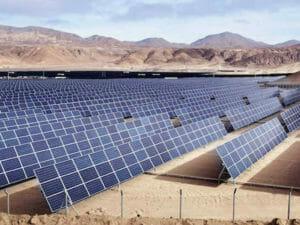 アフリカの太陽光発電
