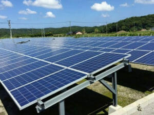 野立ての太陽光発電
