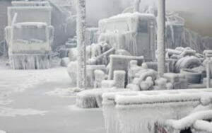 テキサスの寒波