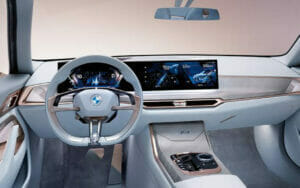 BMW「i4」の内装