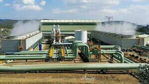 ケニアの地熱発電所