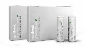 ノースボルト社のバッテリー