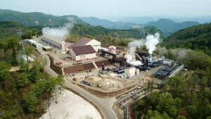 地熱発電のイメージ
