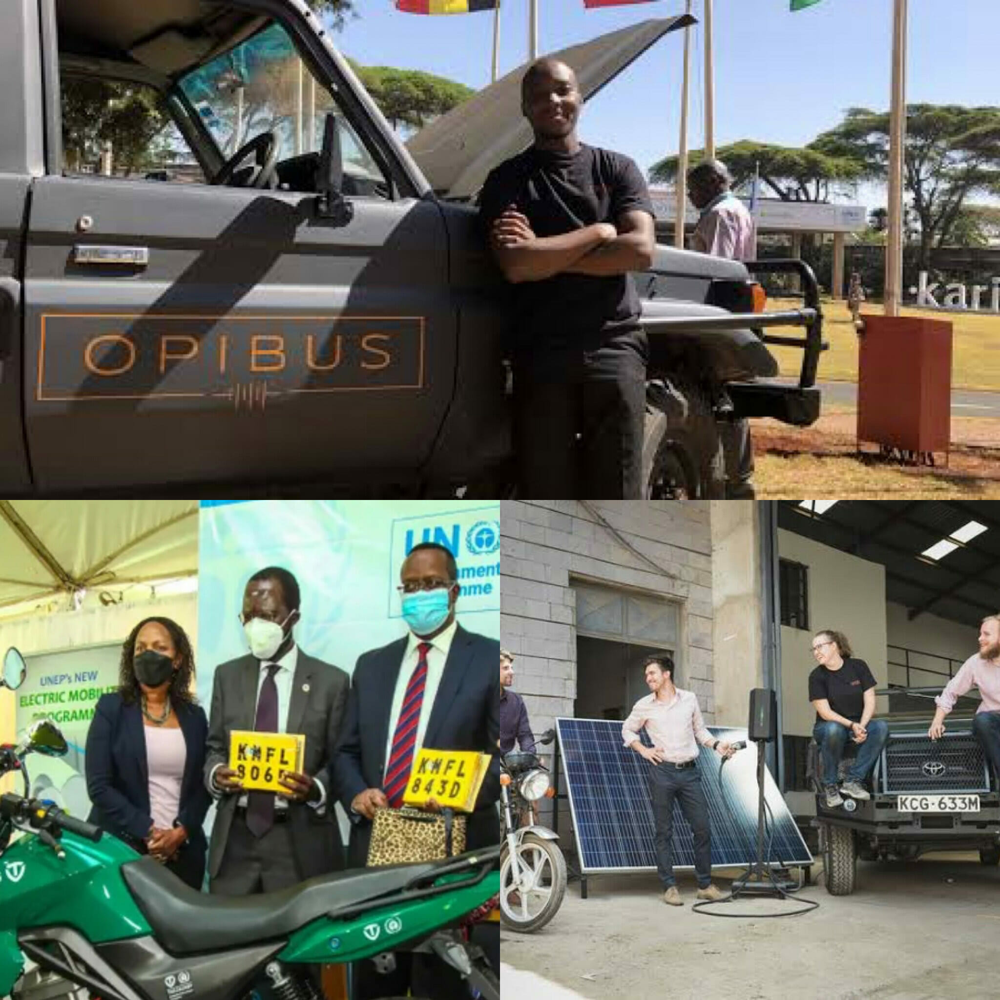 EV化に力を入れるケニア「Opibus社」