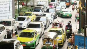 タイの交通渋滞