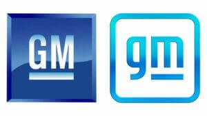 GMのロゴマークの変化