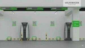 フォルクスワーゲンの充電ネットワーク計画