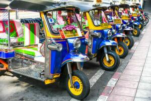 タイのトゥクトゥク