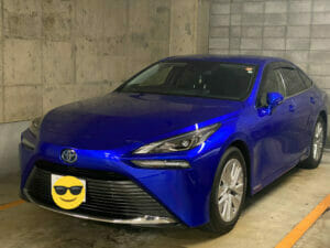 トヨタ「mirai」