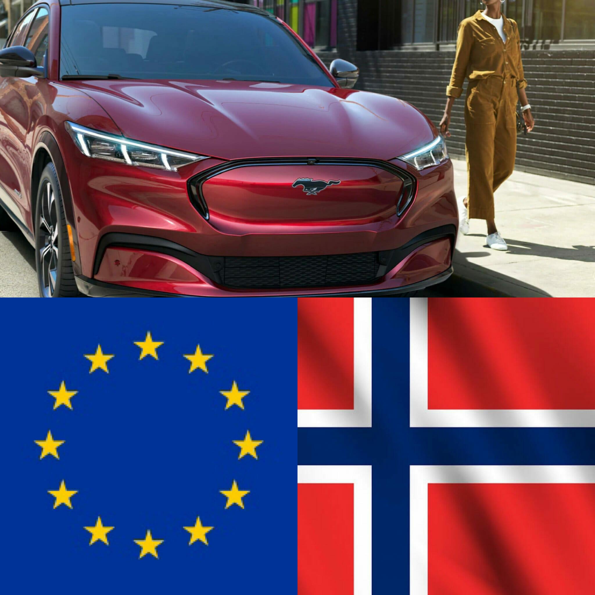 フォード・マスタングマックEとヨーロッパ
