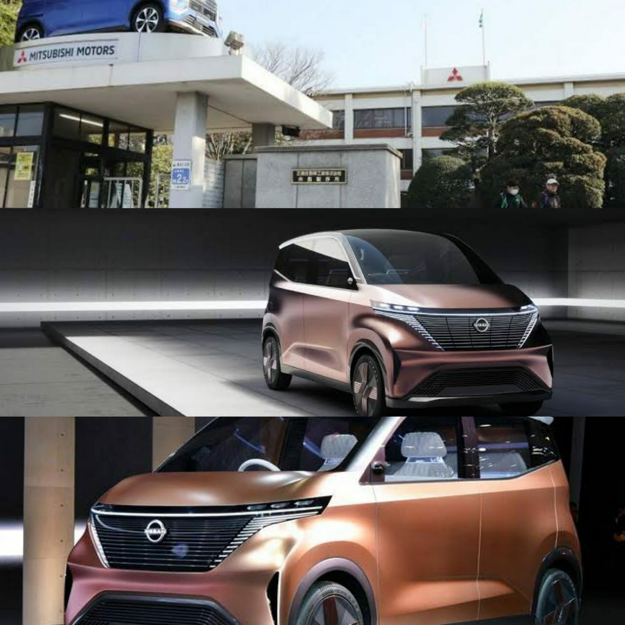 日産と三菱の軽自動車EV