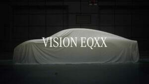 メルセデス「Vision EQXX」