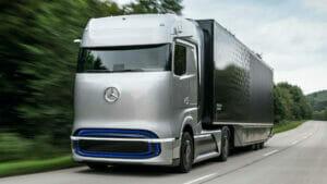 メルセデスのFCVトラック