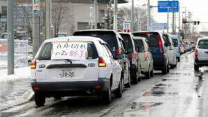 東日本大震災時のガソリン不足