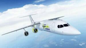 電気飛行機のイメージ