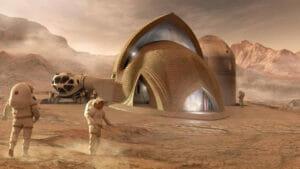 3Dプリンターで火星に住宅