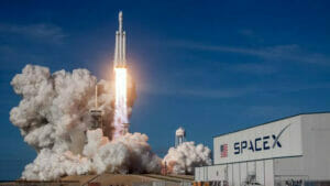 SpaceXの打ち上げ
