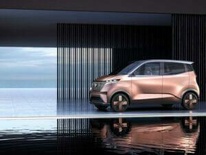 日産・三菱の軽自動車EVの予想図