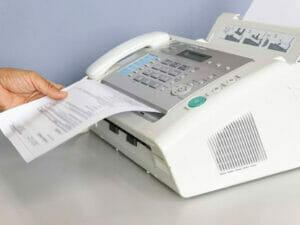ファックスのイメージ